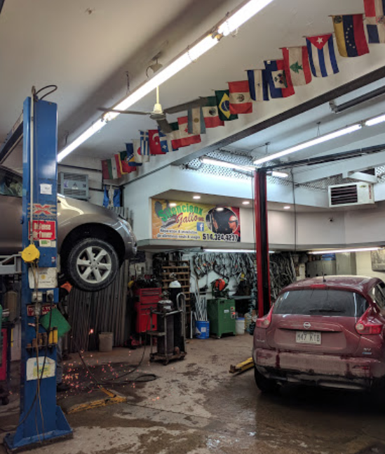 Car repair Montreal Muffler Installation